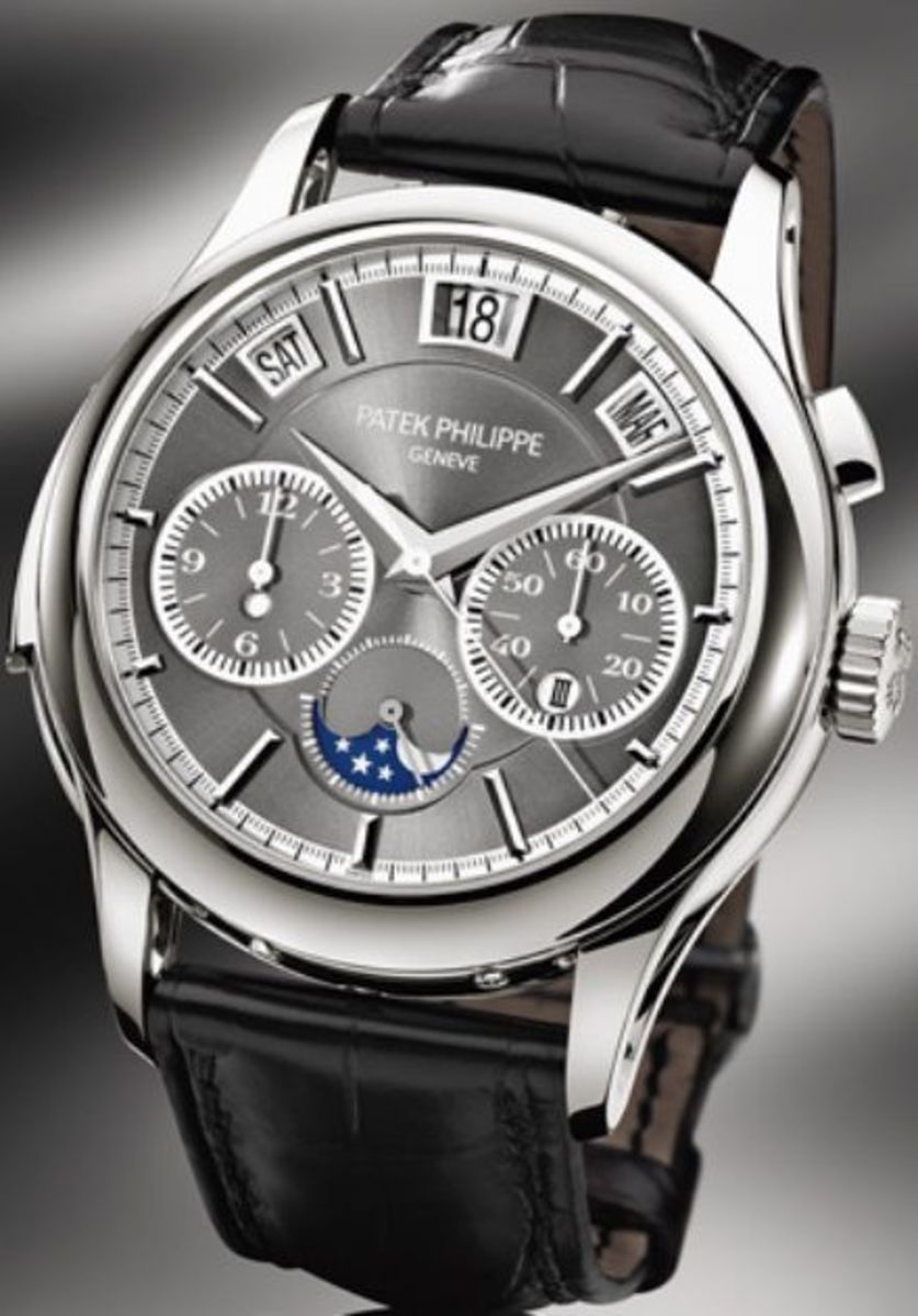 P Philippe Watch Patek Philippe Grand Complications Men S Watch 5208p 001