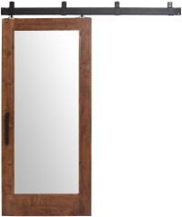 Mirrored Barn Door: Sliding Barn Doors with Mirrors ...