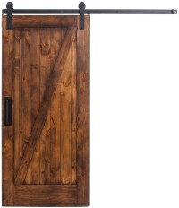 Z Style Interior Sliding Barn Door | Rustica Hardware