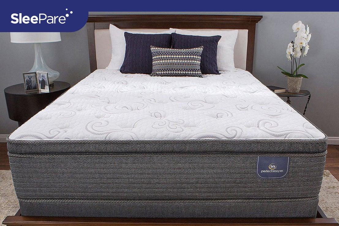 Serta Hillgateii Cushion Firm Pillow Mattress Review