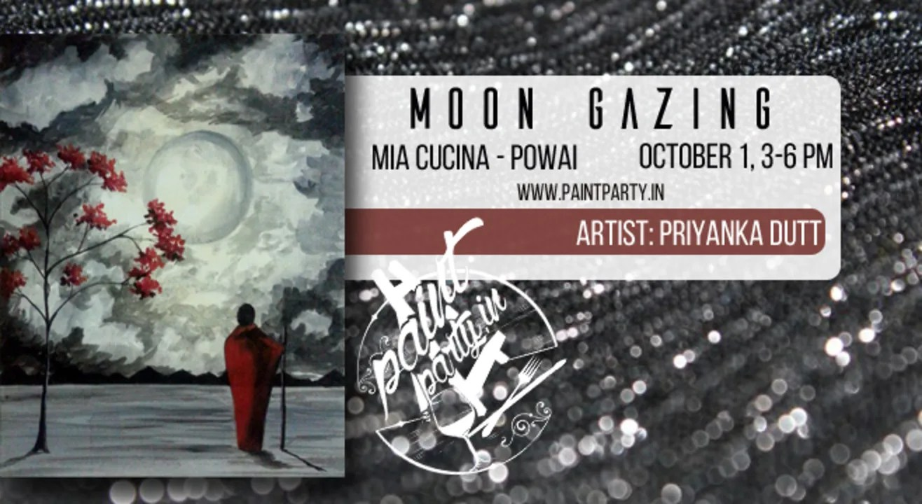 Mia Cucina Pune Book Tickets To Moon Gazing Paint Dine