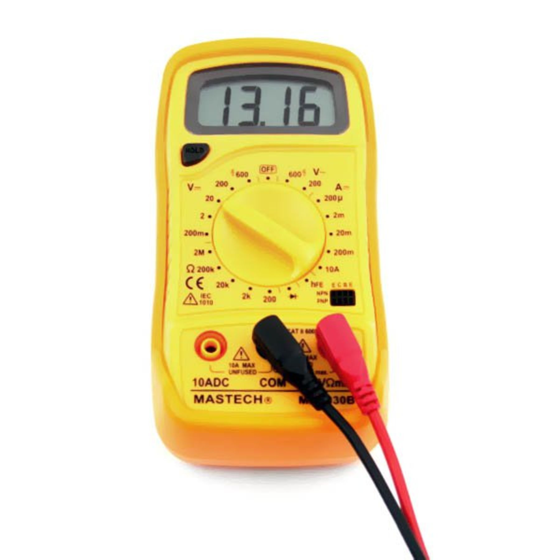 Battery Digital Mastech Ac Dc Digital Volt Meter Multimeter Ydmm05