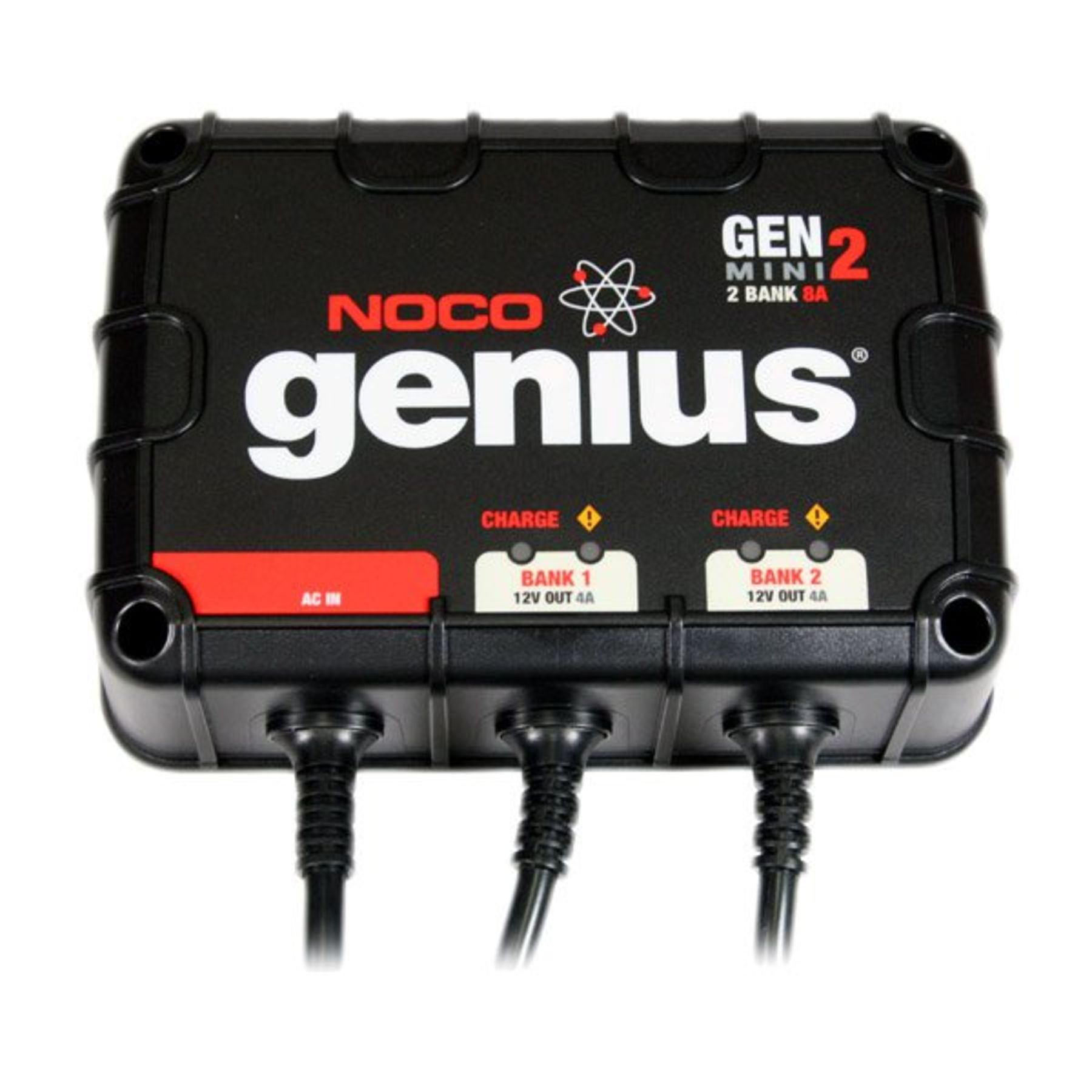 2 Genius Noco Genius 12v 24v 8 Amp Marine On Board Battery Charger Gen 2 Mini Genm2
