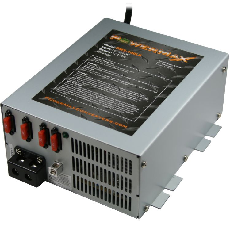 PM3-100LK Powermax Converters 12v 100 Amp Charger Converter