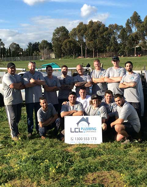 LCL Plumbing & Drainage Team Members
