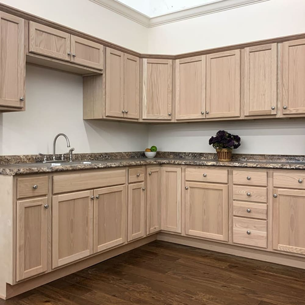 Oak Unfinished Kitchen Cabinet Home Outlet