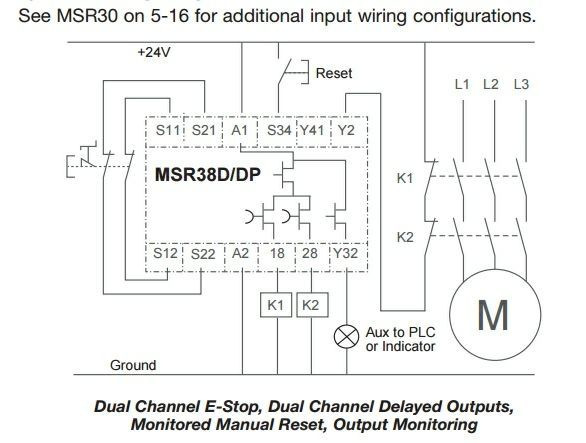 Wiring Diagram For Pilz Safety Relay - Fivedesignenvy \u2022