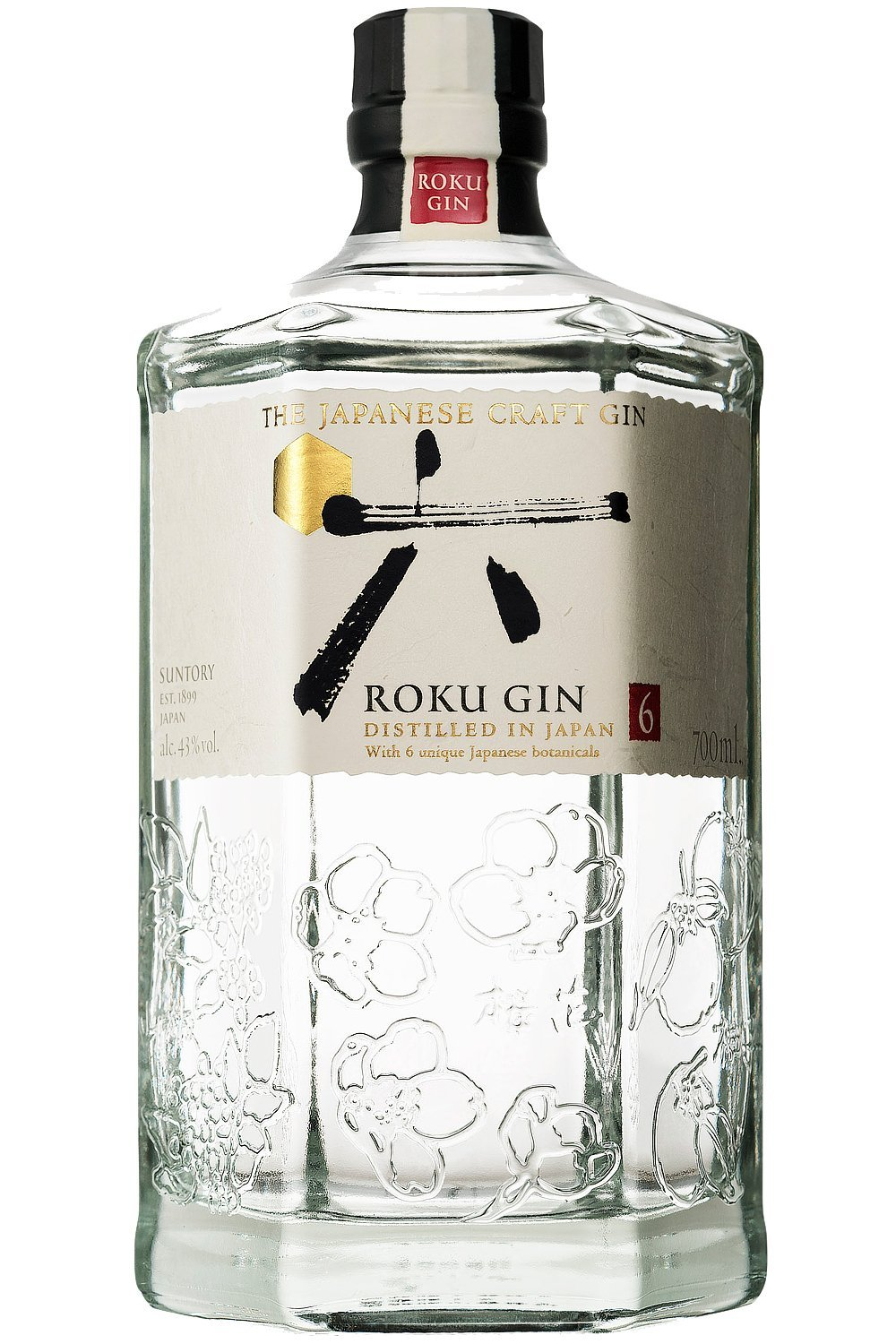 Spirituosen Wein Very Goods Roku Japanese Craft Gin 1 X 7 L Amazon De Bier