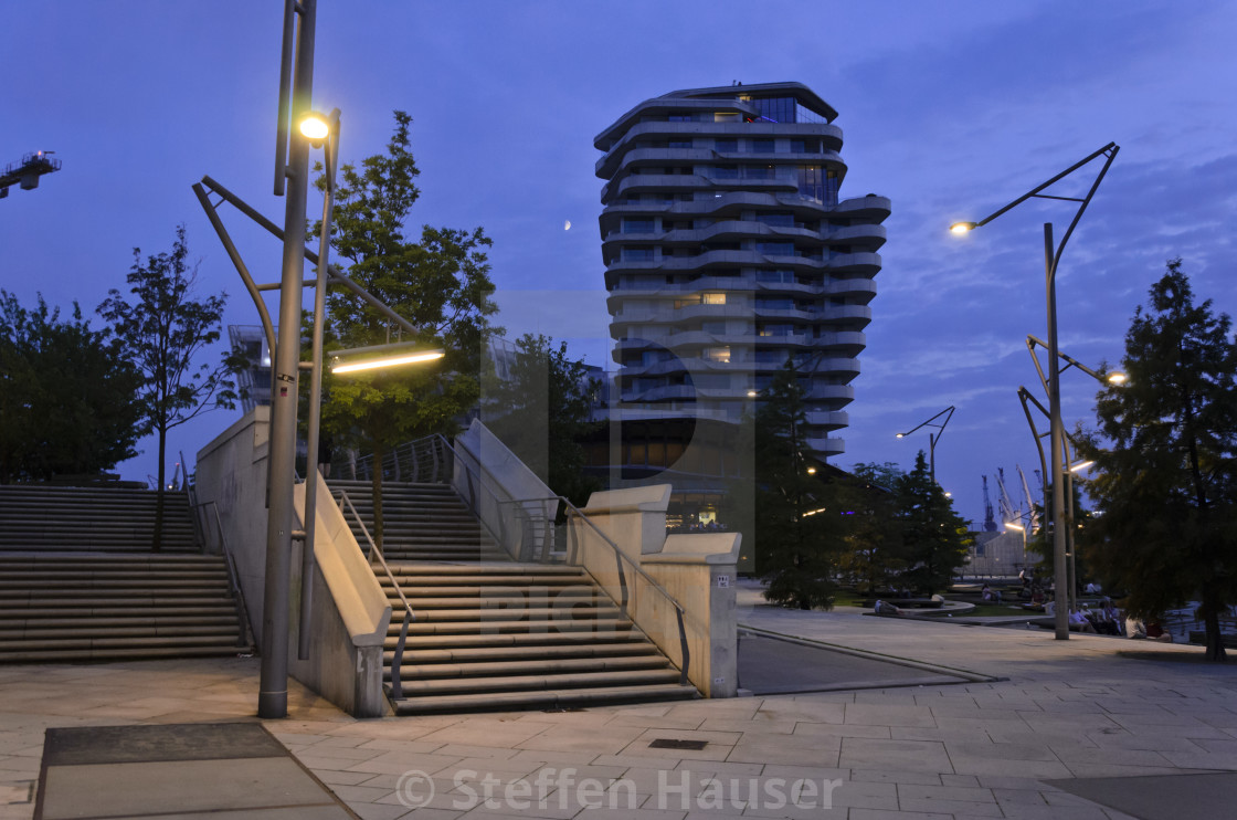 Marco Polo Tower Marco Polo Tower, Hafencity, Hamburg, Germany - License, Download Or Print For £43.40 | Photos | Picfair