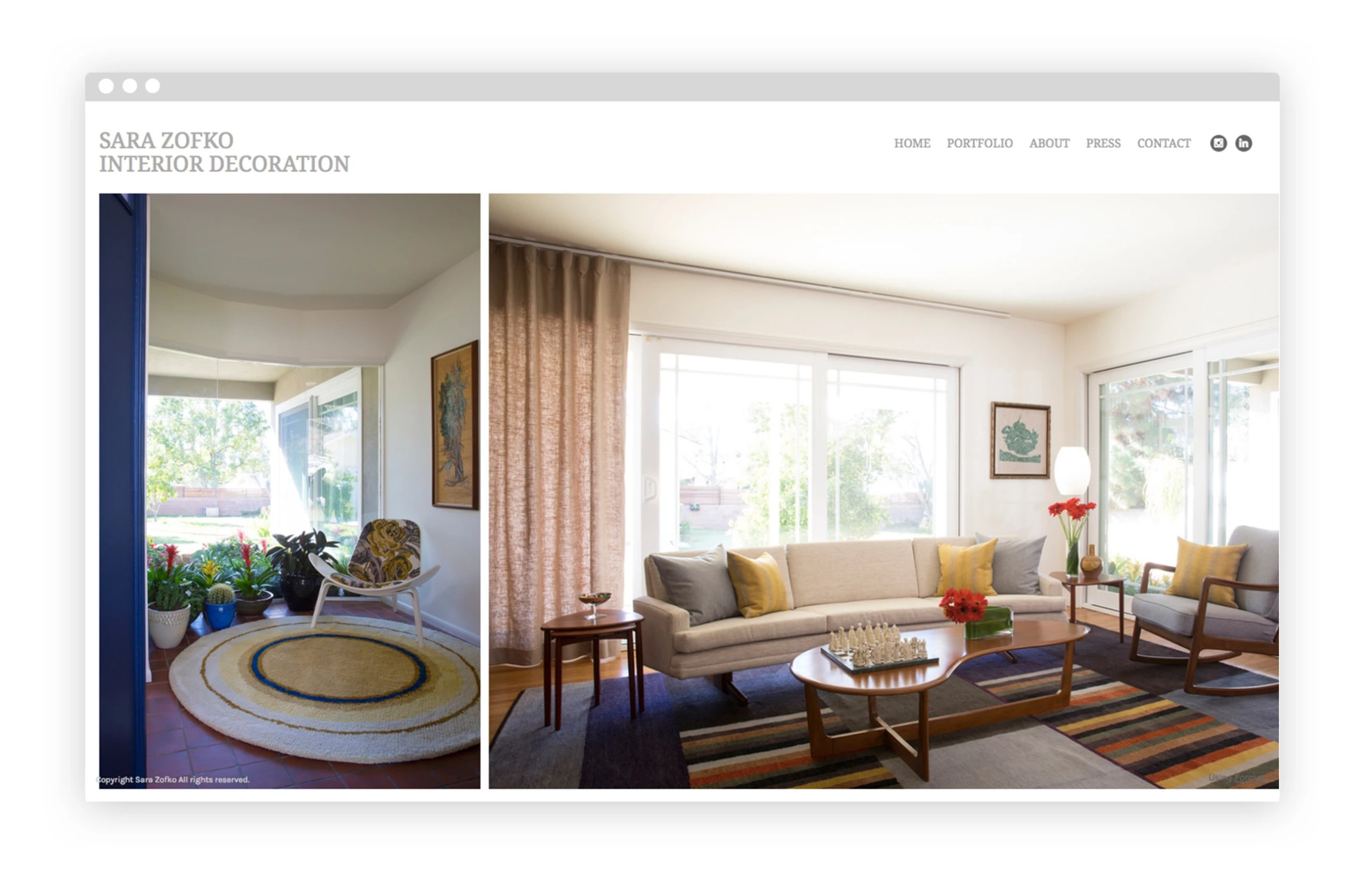 Creation Decoration Interieur 12 Interior Design Portfolio Website Examples We Love