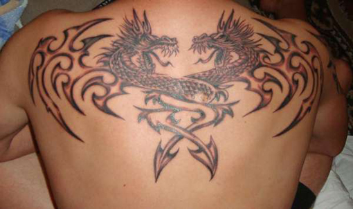 Double-Dragon-tattoo