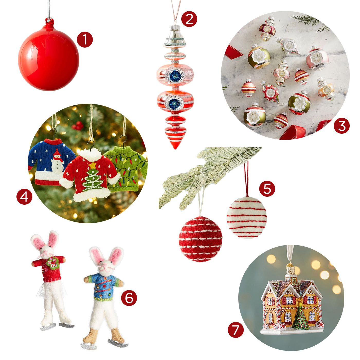 Pantone Christmas Ornaments The Best Ornaments To Match Every Décor Style Gray Malin