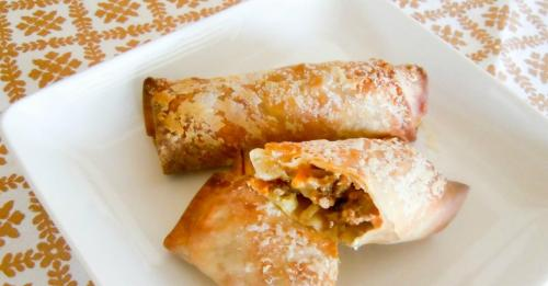 Medium Of Cheeseburger Egg Rolls