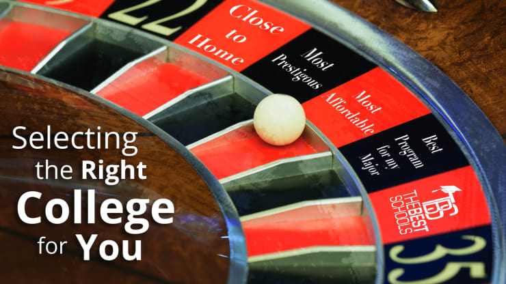 Selecting the Right College for You