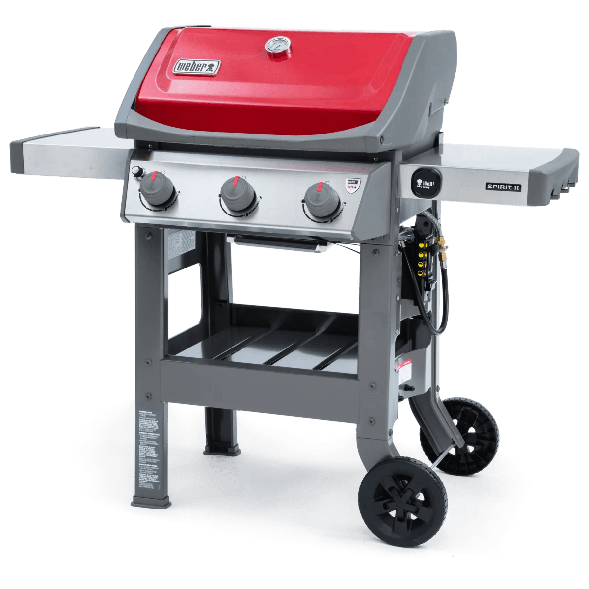 Weber Grill Spirit E 310 The Best Gas Grills Under 500 Cook S Illustrated