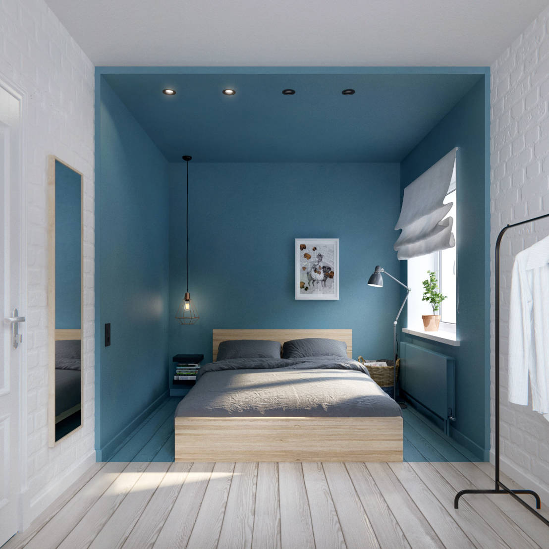Partitioned Bedroom Partition Your Bedroom In These 9 Clever Ways