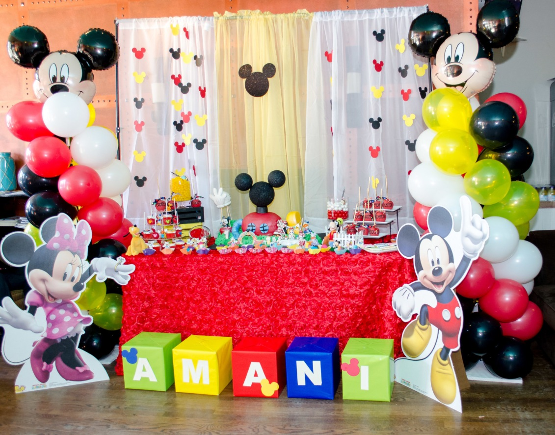 Kids Table Mickey Mouse Club House Birthday Party | Honeybook