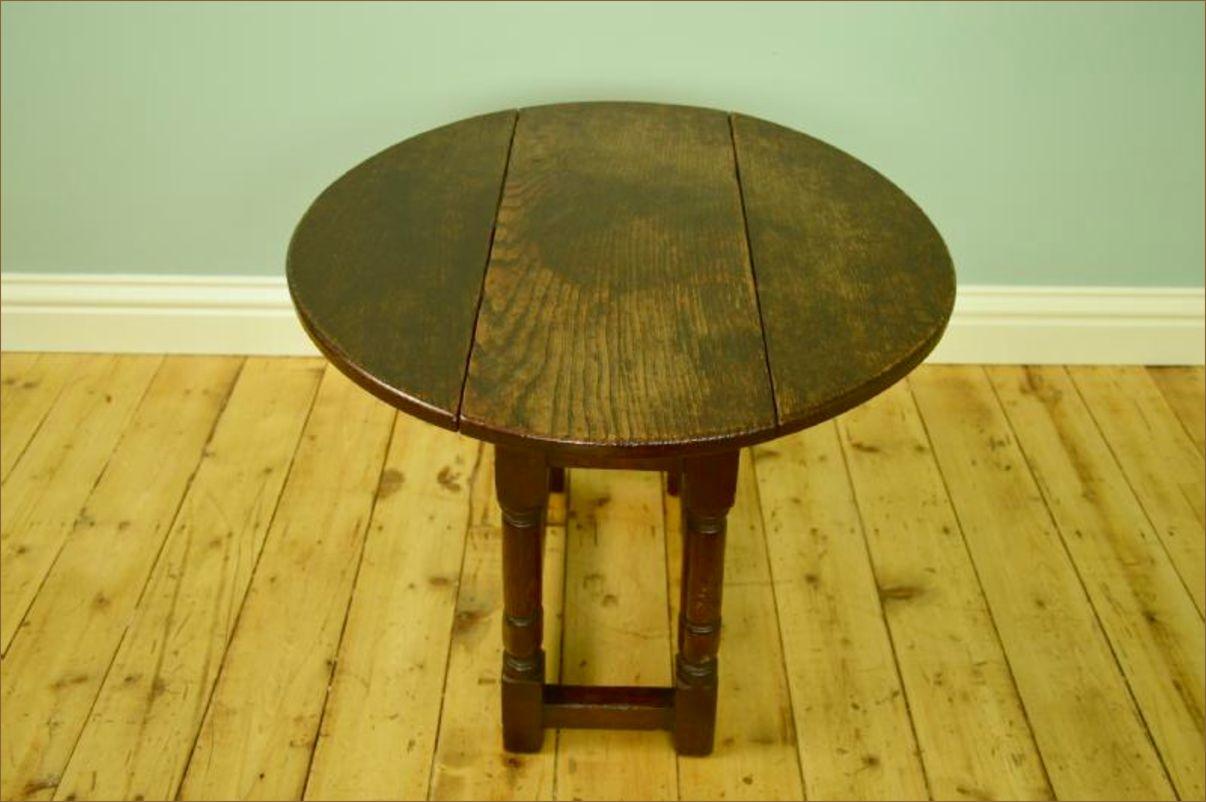 Small Oak Drop Leaf Table Belle Vue Antiques