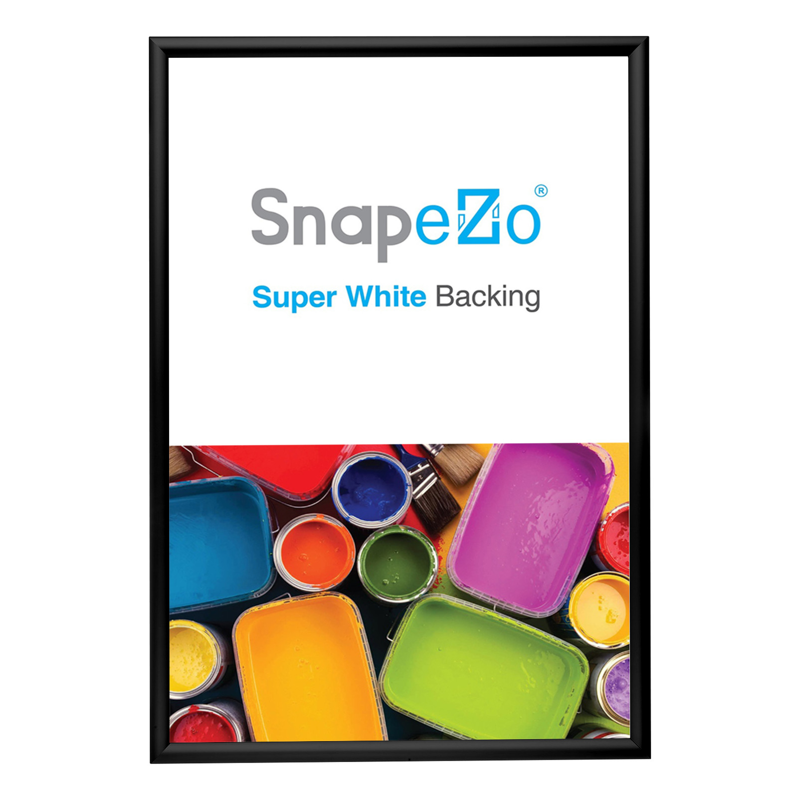Poster A0 Details About Black Snapezo Snap Frame Poster Size A0 1 2 Inch Profile