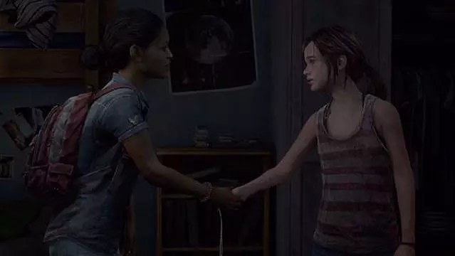 The Girl From The Other Side Wallpaper Naughty Dog S Response To Ellie S Sexuality Quot Who Cares