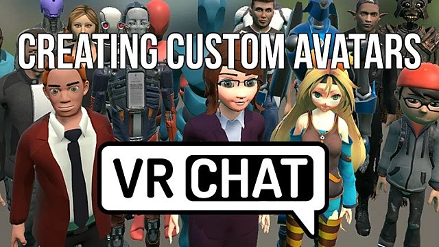 Create My Own 3d Name Wallpaper Vrchat Guide How To Create Custom Avatars Vrchat