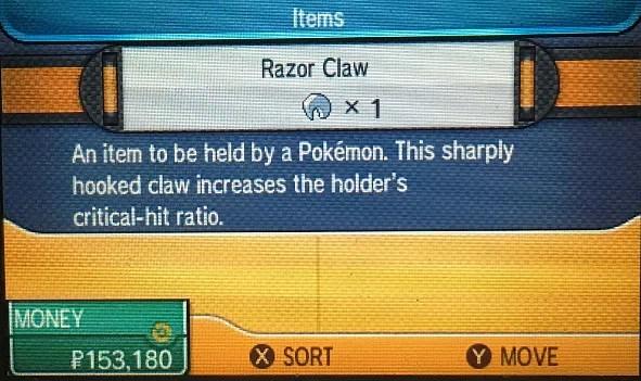 Pokemon Sun and Moon Guide How to Get a Razor Claw Pokemon Sun