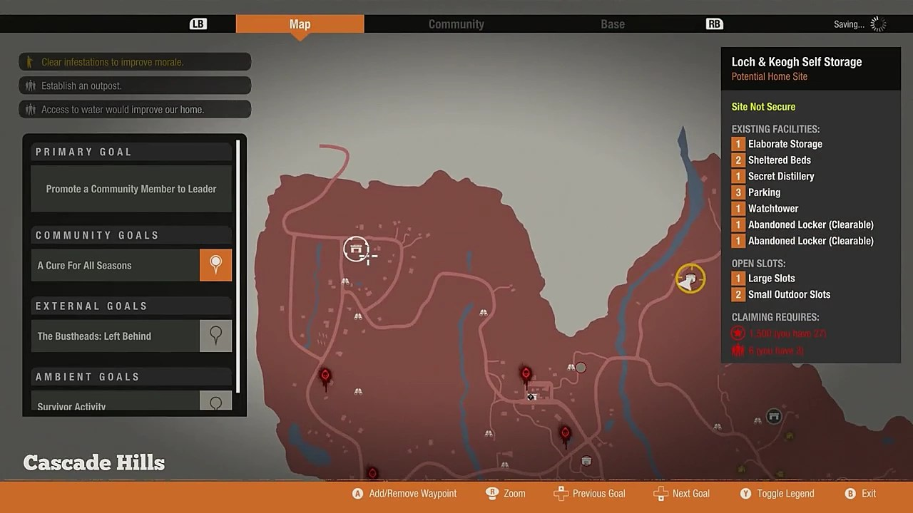 State Of Decay 2 Guide Best Locations For Base Building