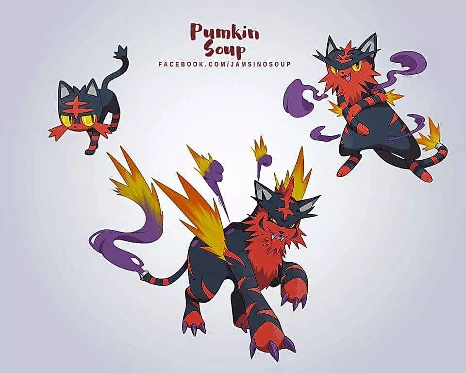 New Pokemon Evolution Chart - A Pokémon Ultra Sun and Ultra Moon