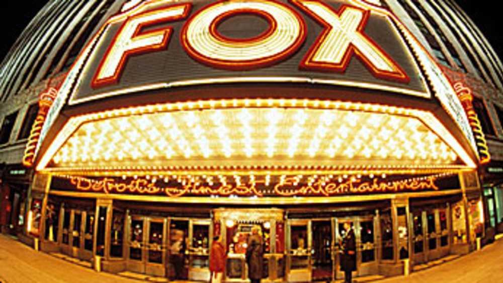 Fox Theatre Michigan
