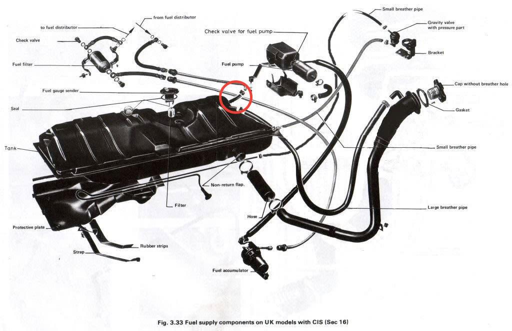 mk1 cabriolet fuel filter