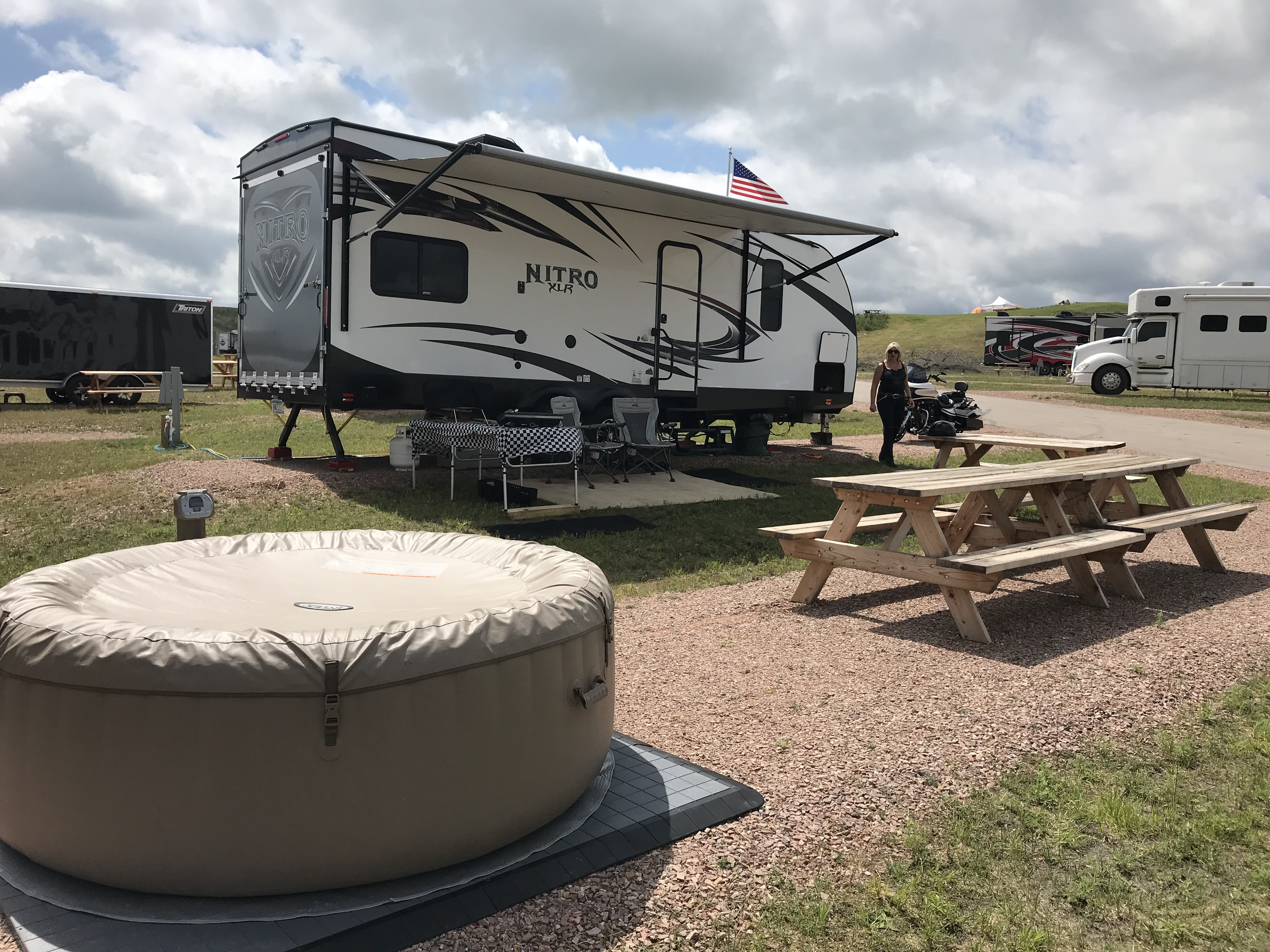 2017 Forest River Nitro Xlr Motor Home Caravane Rigide à Double Essieux Rental In Lindstrom Mn Outdoorsy