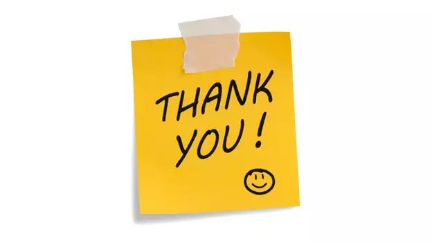 Article The Power of Thank-You Notes \u2014 People Matters
