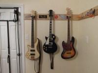 Diy Guitar Wall Mount - DIY Decorating Ideas