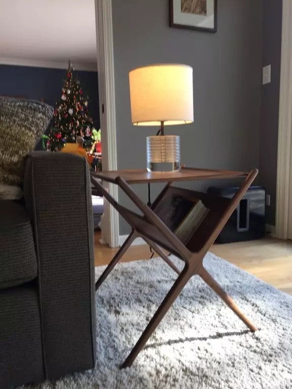 Fitz End Table - Modern End Tables - Modern Living Room Furniture - living room end table