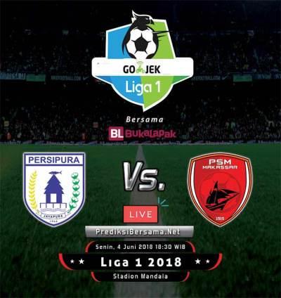 Prediksi Persipura vs PSM Makassar, Liga 1 Indonesia - 4 Juni 2018