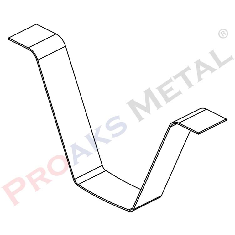 Clip in Pressure Wedge, Edge Printing Spring Profile Accessory
