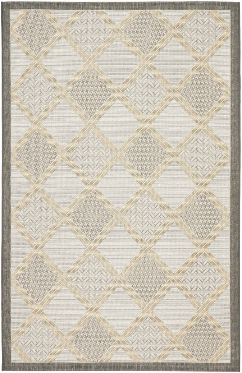 Safavieh Courtyard Safavieh Courtyard Cy7570 78a21 Light Grey Anthracite Area Rug