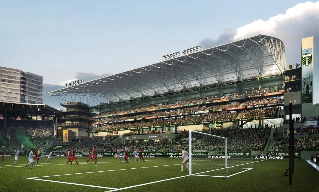 The Timbers Are Adding 4,000 Seats to Providence Park and It Looks