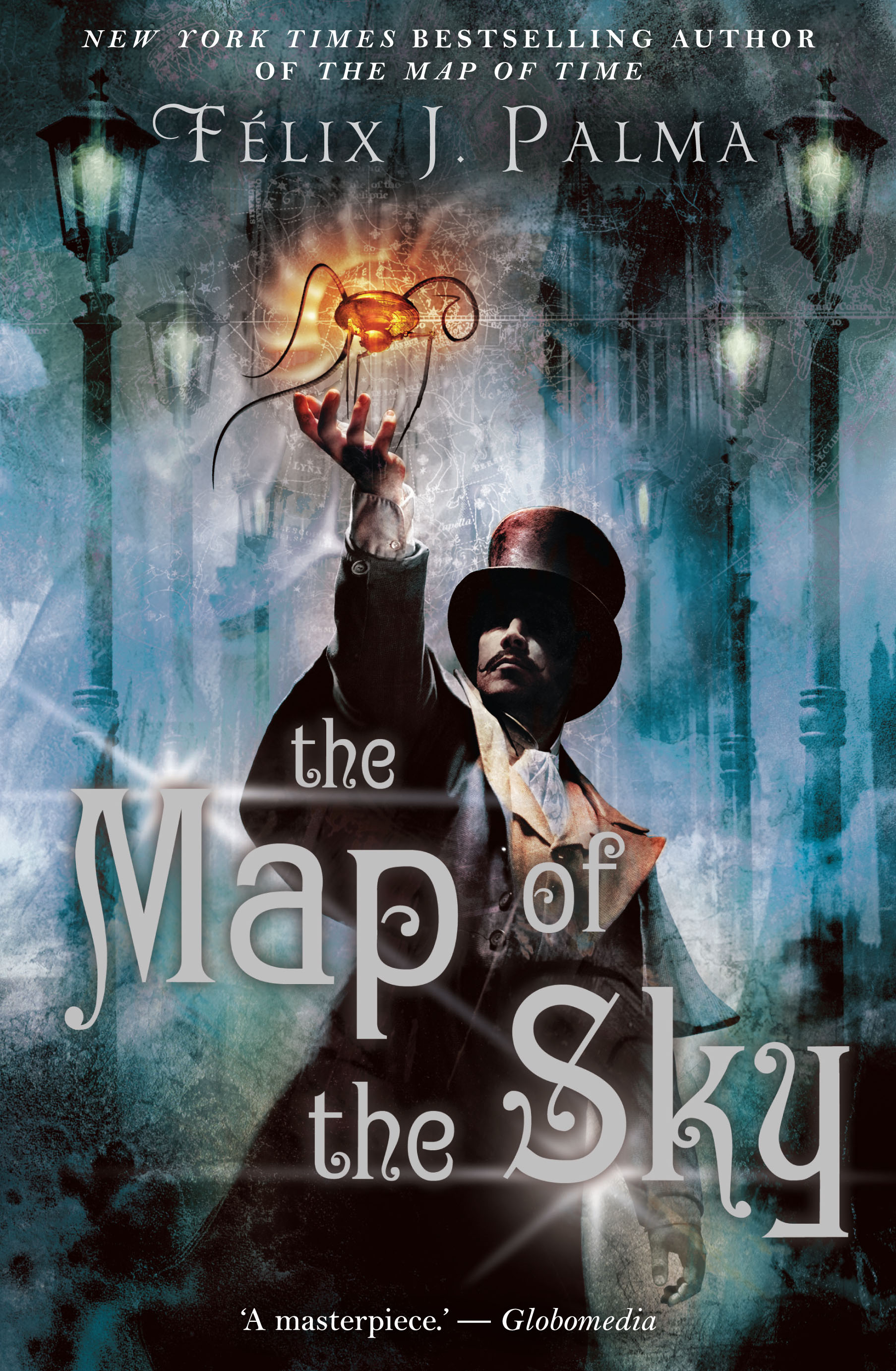 Felix J Palma Libros The Map Of The Sky Book Scribe Publications