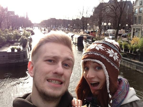 Мы и Амстердам, 2012