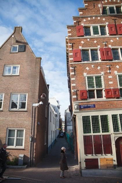Косые домики, Амстердам 2012