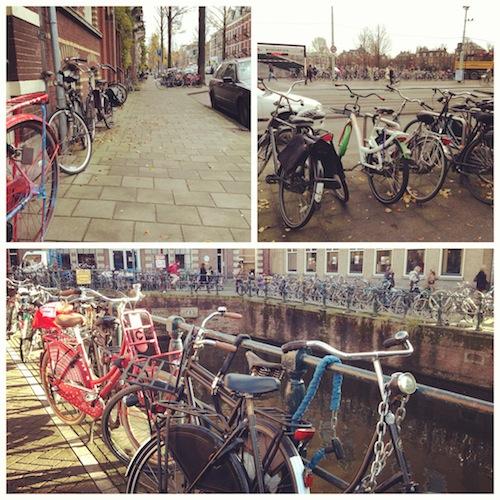 Велосипеды, Амстердам 2012