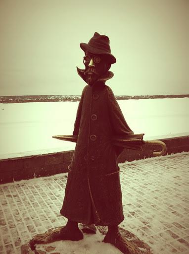Памятник Чехову, Достопримечательности Томска