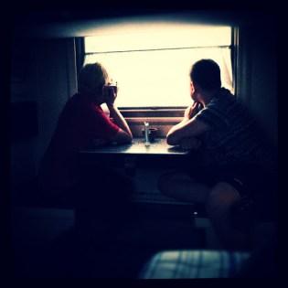 Поезд в Томск, 2012