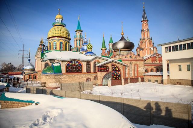 Храм всех религий, Казань 2012
