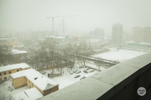 Последний снегопад, Дмитрий Афонин, 2012