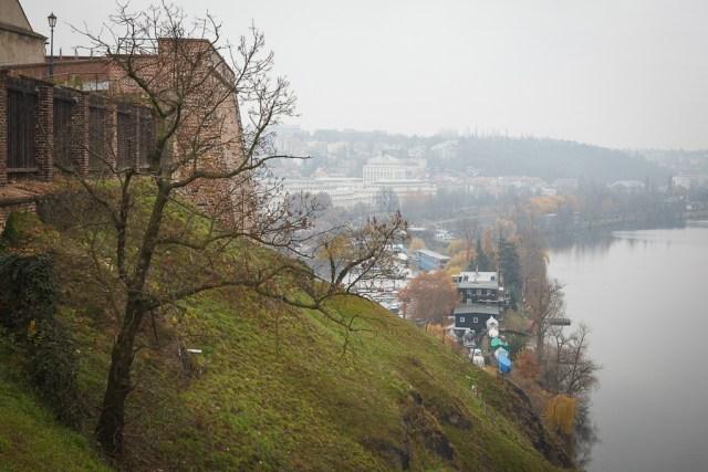 Влтава, вид с Вышеграда, Прага 2012