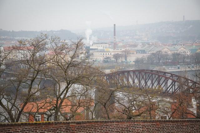 Железничи мост, Прага, 2012