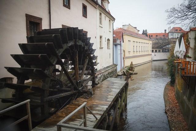 Водная мельница на Кампе, Прага, 2012
