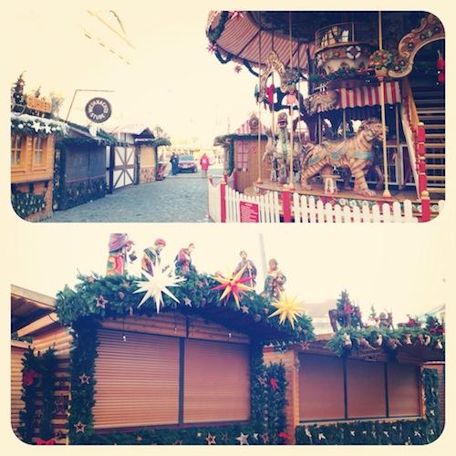 Рождественская ярмарка, Дрезден, 2012